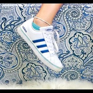 Adidas Shoes - Adidas Shoes Womens Size 7 White and Blue